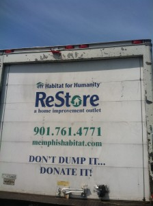 The ReStore will even come pick up your donation!