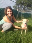 Adriene and Princess Peach at the Humane Society of Memphis and Shelby County