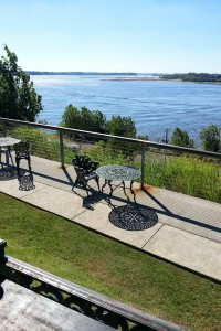 View of the Mississippi from the Metal Museum