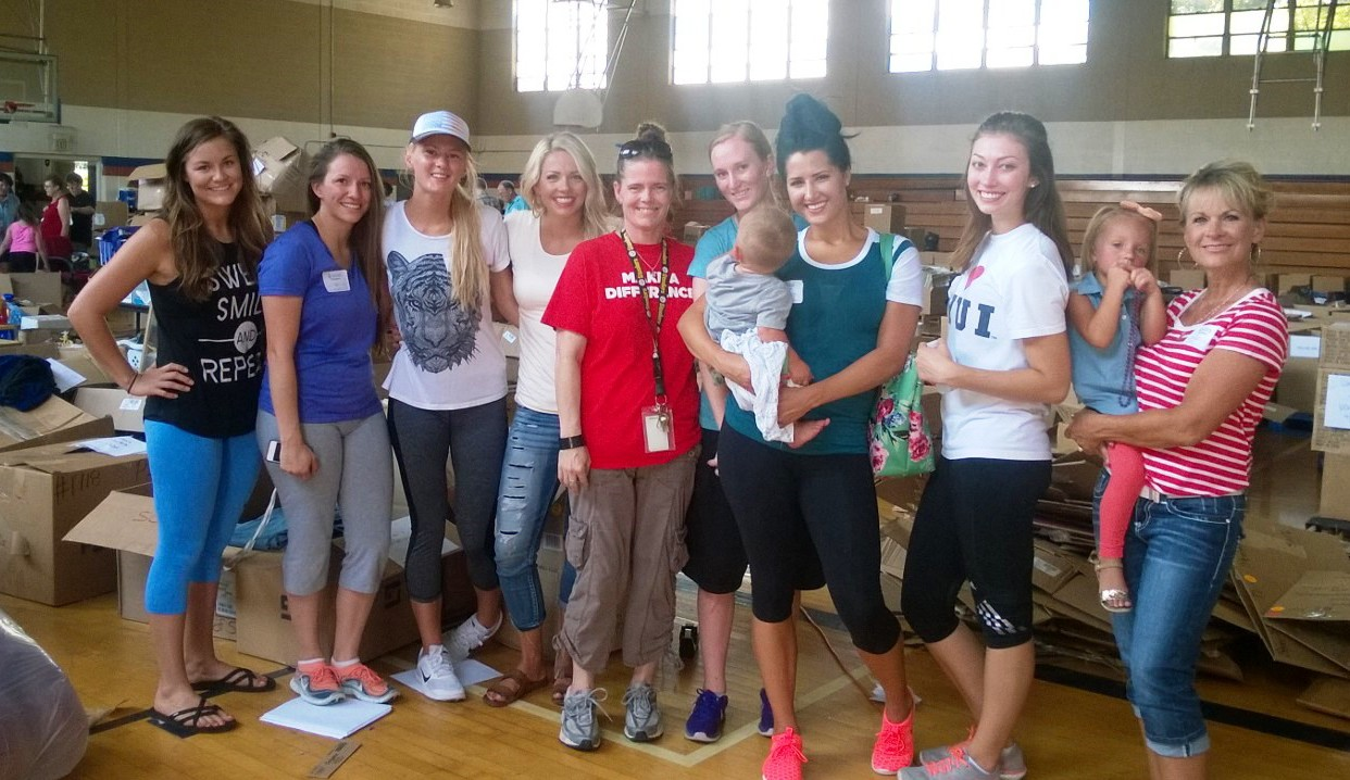 This group of volunteers from Utah uses Volunteer Odyssey's Calendar of Volunteer Opportunities to connect with a cause in Memphis