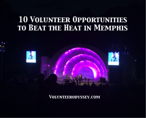 Memphis Volunteer Opportunities this Summer
